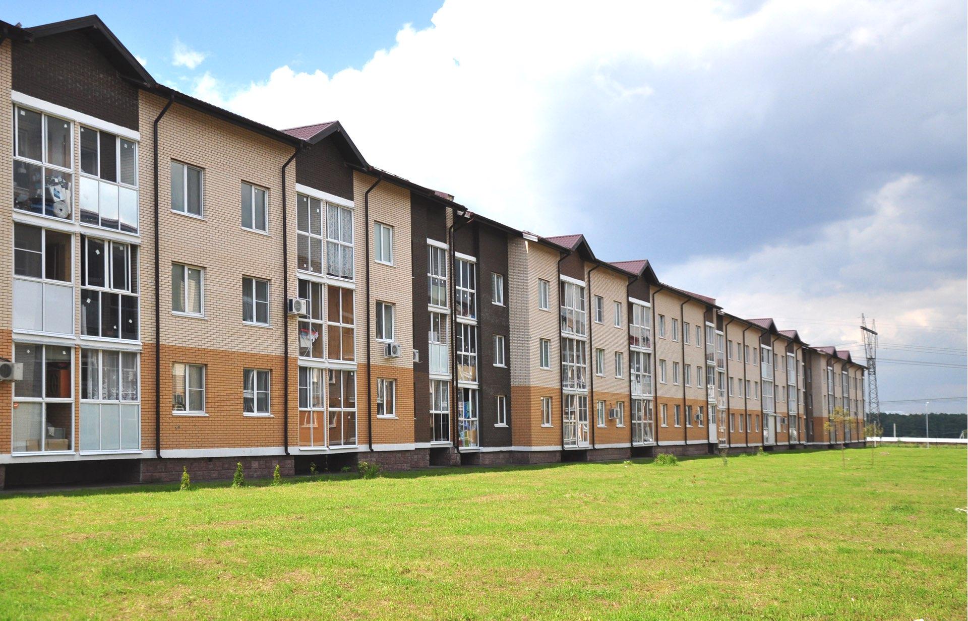 ЖК «Кореневский форт 2» - малоэтажный жилой комплекс в европейском стиле. Дома построены.